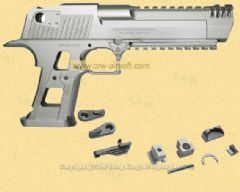 Desert Eagle 2016 XIX L6 aluminium kit + steel parts (Half set) by Robinhood Tactical